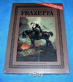 Peintures Fantastique De Frazetta Limitée De Luxe 1500 Op Signés Slipcased Withextra