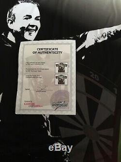 Phil La Puissance Taylor Signée À La Main Shirt Darts Grand Prix 2013 Comes With Coa