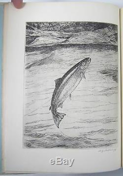 Poissons Par Schaldach Signe De Luxe De Vélin 153/157 William Schaldach Pêche 1937