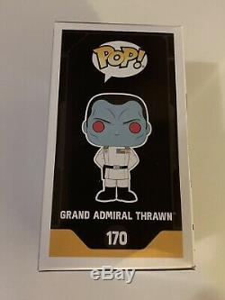 Pop! Funko Star Wars Rebelles Thrawn 2017 Convention Galactic Signé