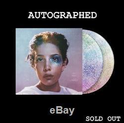 Pre Commande Autographed Manic (deluxe Glitter Vinyle Lp) Halsey Signe