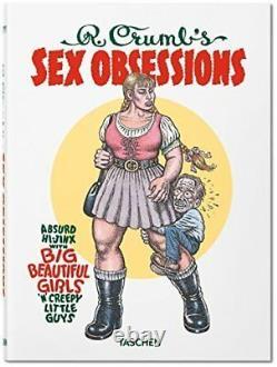 R. Crumb Sex Obsessions Deluxe Limited Ont Signé Avec Impression Édition Numérotée