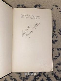 Rare 1932 Signé Manly P. Hall Man Le Grand Symbole Des Mystères Hc