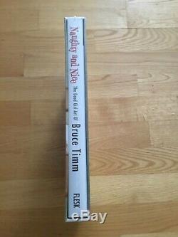 Rare Nouveau Bruce Timm Et Agreable Signé Naughty Numéroté Deluxe Relié # 244/1000