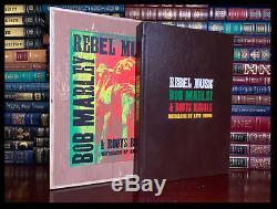 Rebel Musique Bob Marley Signe Genesis Publications Eric Clapton Deluxe 1/350