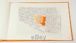 Richard Tuttle 40 Tage, 1989. Signé, Numéroté Deluxe Artiste Livre