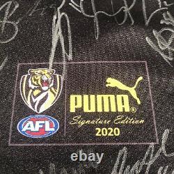 Richmond Tigers 2020 Finaliste Équipe Du Grand Signé Jumper Avec Coa