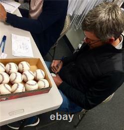 Robin Ventura Grand Chelem Inscription Stat Balle Signé Baseball Beckett Bas Coa