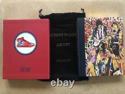 Ronnie Wood Artist Deluxe Genesis Publications Book Limited Numéroté Signé