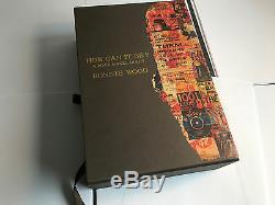 Ronnie Wood Comment Peut-il Être Exemplaire Deluxe Cuir Genesis Livre Mint