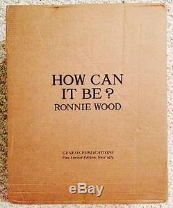 Ronnie Wood-comment Peut-on-genesis Publications De Luxe-n ° 122-vendu Out- Signe