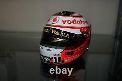 Sergio Pérez A Signé Le Grand Prix 12 Casque De Monaco 2013 (édition Limitée De 400)