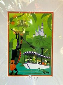 Shag A Perilous Adventure Deluxe Imprimer Enchanted Tiki Room Josh Agle Signé