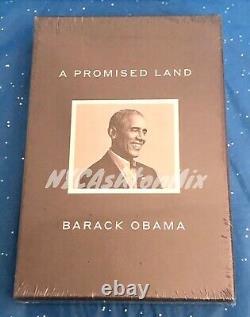 Signé & En Main Deluxe Clothbound A Promised Land Par Barack Obama, Sold Out