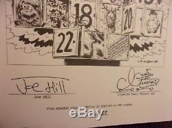 Signé Joe Hill Nos4a2 / Wraith Deluxe Edition Limitée Idw Charles Paul Wilson