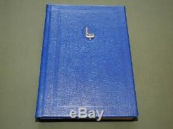 Signé, L'air Special Numérotée Elite Rhodesian Service De Luxe Livre Vtg Rare