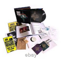 Signé Live At The Hollywood Palladium Super Deluxe Box Set Keith Richards CD Lp