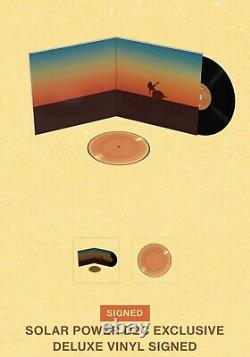 Signé Lorde Solar Power Deluxe Vinyl Lp Autographed Insert