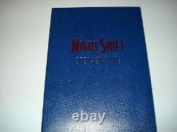Signé Night Shift The Deluxe Special Edition Traycase Cemetery Dance 552/750