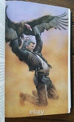 Signé Stephen King Desperation Deluxe Limited 1er Ed. Illustrated