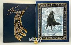 Signed Easton Press Frankenstein Deluxe Collectors Limited Edition 1/1200 Seeled