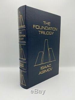 Signes Easton Press Foundation Trilogy Isaac Asimov Collectionneurs Deluxe Edition Sf