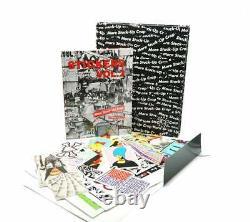 Space Invader Signé Feuille D'autocollants Avec Collé Up Store Autocollants Vol 2 Deluxe Set