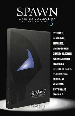 Spawn Origins Collection Deluxe Relié No. 3 Signed Edition New Sealed