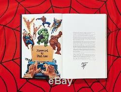Stan Lee Histoire Marvel Par Taschen Deluxe Signé Par Stan Lee