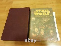 Star Wars Dark Force Rising Deluxe Limited Première Edition Zahn Signé Autographié