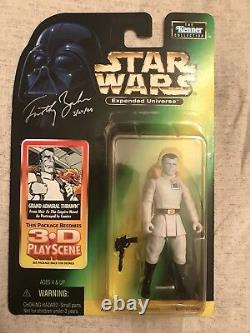 Star Wars Élargi Univers Grand Amiral Thrawn Autographed Action Figure
