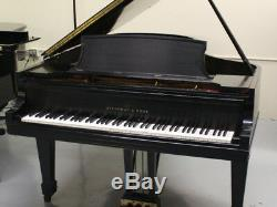 Steinway B Grand Piano 6'10 Ebony Satin Finish Signée Par Henry Steinway