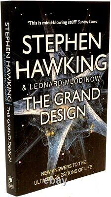 Stephen Hawking Le Grand Design Signé Avec Thumb Imprimer De Hawking