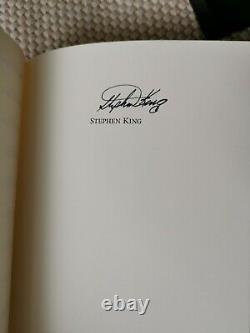 Stephen King A Signé Cadillac De Dolan Signé Limitée Autographe Marbrée Pc Deluxe