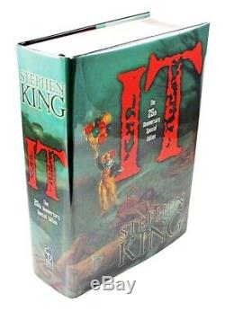 Stephen King It Limited Edition Deluxe Signé + 25 Création Portefeuille Matching