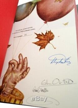 Stephen King Limited Edition It Signé Deluxe 25th Anniversary Illustrated Vf