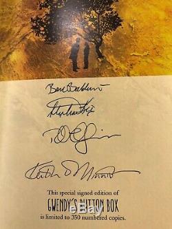 Stephen King, Richard Chizmer Cas Signé Plateau De Luxe Livre Collector Surdimensionné