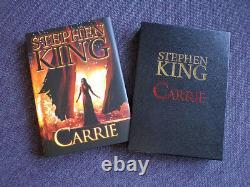 Stephen-king-carrie-deluxe Slipcased Edition. Cimetière Danse / Signé Par Artiste