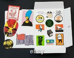 Sticker D'invasion De L'espace Signé Feuille W Sticker Up Stickers Vol 2 Deluxe Set Le X/400