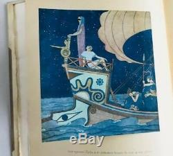 Tales Nathaniel Hawthorne Tanglewood Delux Ed Signé Par Illust- Edmund Dulac