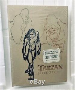 Tarzan Chroniques De Luxe À Fourreau, Disney Ltd Édition 1999, Cachetée, Signée
