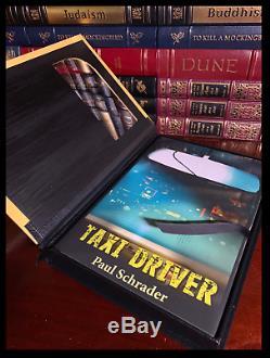 Taxi Driver Signé Par Robert De Niro & Martin Scorsese Deluxe New Lettered 1/52