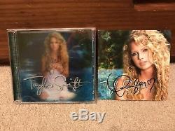 Taylor Swift Deluxe Limited Edition CD DVD Dédicacé Autograph Dédicacées Poo Rare