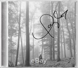 Taylor Swift Folklore Signé Limitée Deluxe CD Édition Dans Les Arbres Maintenant Des Navires