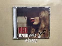 Taylor Swift Red Deluxe Edition + Livret Autographié Couverture Signée