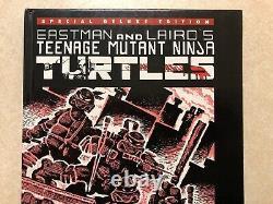 Teenage Mutant Ninja Turtles # 1 Deluxe Hardcover Signé Par Eastman & Laird