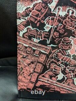 Teenage Mutant Ninja Turtles # 1 Hardcover Édition De Luxe Signé Eastman Et Laird