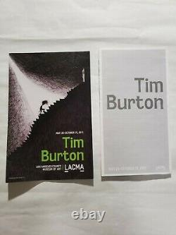 The Art Of Tim Burton Rare Deluxe Hand Signed Book And Lithographie + Extras