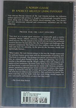 The Last Unicorn Peter S Beagle Signé Deluxe Hardcover 2007 Rare Hc Dj Idw