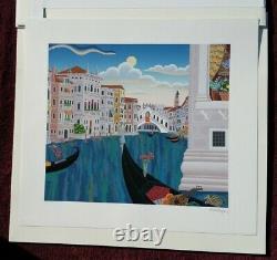 Thomas Mcknight Print, Grand Canal, Venise